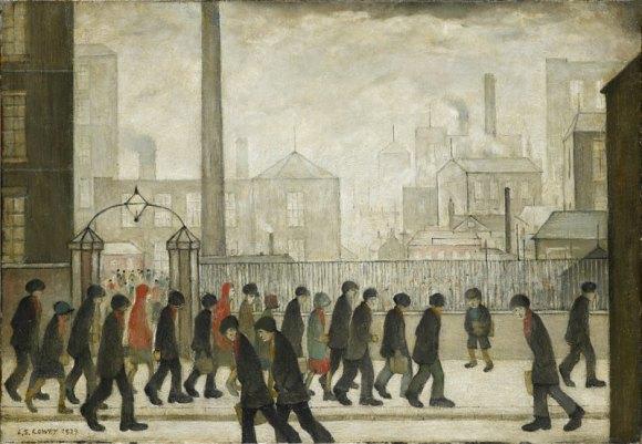 LS Lowry, 1929
